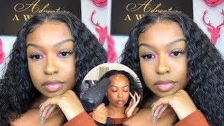 WATCH ME SLAY THIS WIG | START TO FINISH: CURLY HAIR INSTALL ft Perfect Lace Wig | Lovevinni_