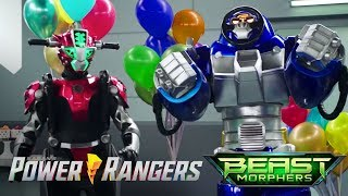 "Power Rangers Beast Morphers - Party for the Beast Bots | Episode 7 ""A Friend Indeed"""
