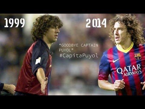 Goodbye Carles Puyol / A great captain #GràciesPuyol