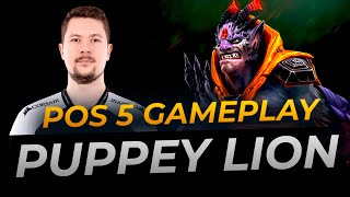 Puppey plays Lion Hard Support | Full Gameplay Dota 2 Replay
