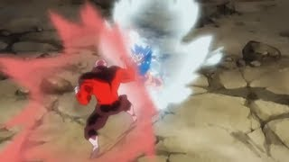 Perfect Ultra Instinct Goku vs Jiren Anime Scene in Super Dragon Ball Heroes