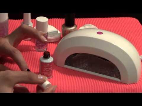 Tutorial utilizzo nuova lada essence &;gel nails at home&;: gel