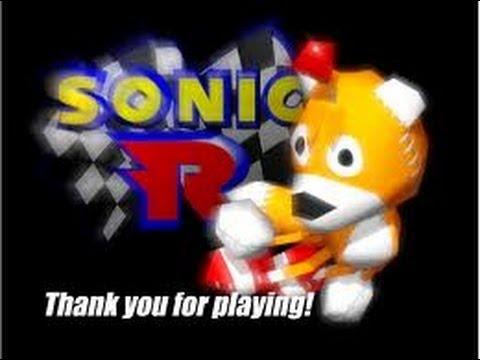 Sonic R: Loquendo TAils Doll rompiendo el sello