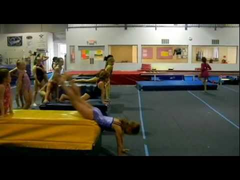 Best Cast Handstand Drill- Bay City Gymnastics Drills