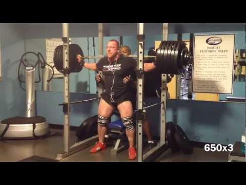 heavy box squats / deadlifts Image 1
