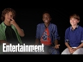 The Stranger Things Cast Create Lyrics to the Theme Song (Spoilers) | Entertainment Weekly