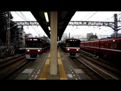 [動画] 1500形6連奇跡の同時発車…!!