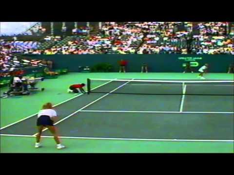 Steffi Graf vs Martina Navratilova 1987 Lipton semifinal