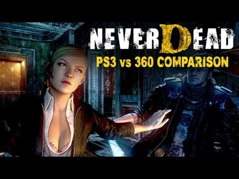 NeverDead Xbox vs PS3 gameplay