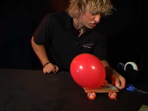 Physics Balloon Car Balloon Powered Car