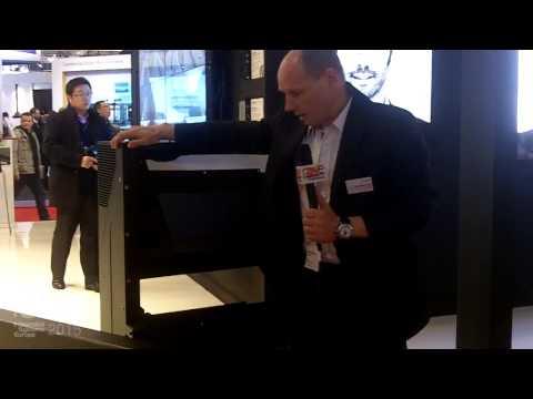 ISE 2015: Eyevis Explains New EC-50-LHD-SLIM 50″ Cube