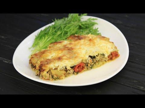 Запеканка из картофеля и фарша - Рецепты от Со Вкусом