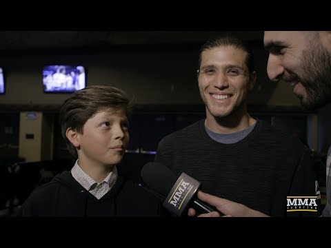 Brian Ortega (w/ Cameo From Little Brother) Explains Why He Still Sleeps on the Floor - MMA Fighting