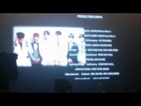141213 2PM End Credit - JYP Nation One Mic in Bangkok