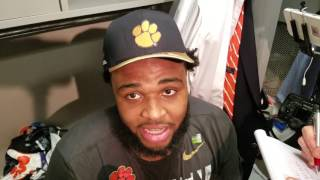"""TigerNet.com - Christian Wilkins """"I just want to enjoy this"""""""