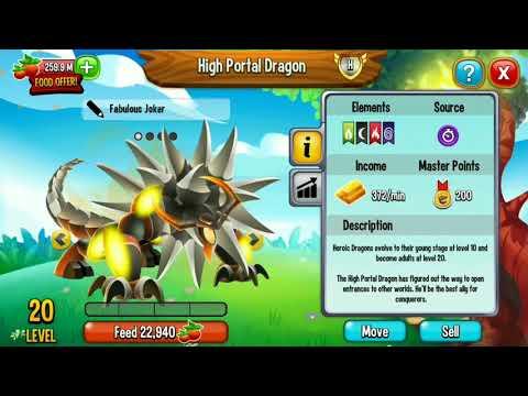HIGH PORTAL DRAGON review dragoncity