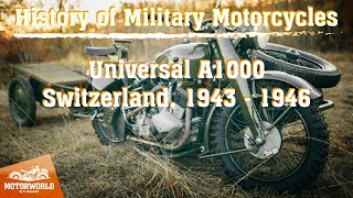 "Universal A 1000 (Switzerland) Trial by ""The Motorworld by V.Sheyanov"" (Russia)"