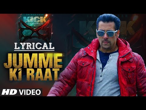Jumme Ki Raat With Lyrics | Salman Khan | Jacqueline Fernandez | Mika Singh video