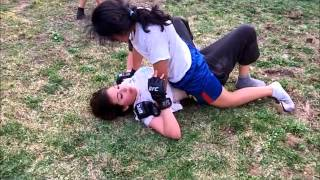 BackYard mma BFO1 - Tanya vs Triana
