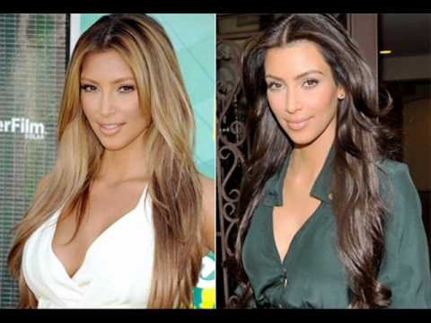 You decide is these celebrites look better as a blonde or a brunette!