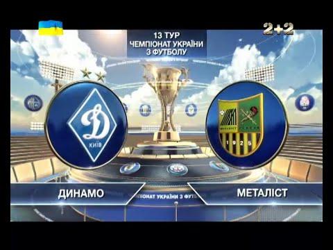 Динамо - Металлист - 2:0. Обзор матча