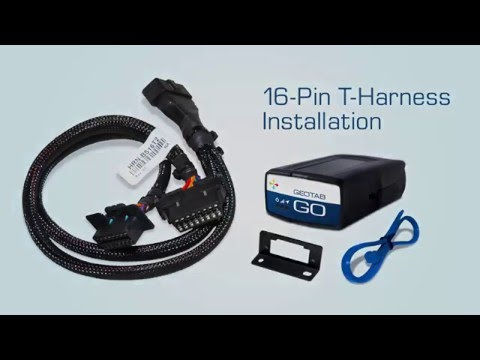16-Pin T-Harness Installation | Fleet Management Device Installation