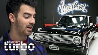 Joe Jonas se emociona con Ford Falcon restaurado | West Coast Customs | Discovery Turbo