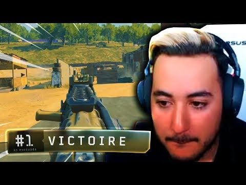 DÉCOUVERTE ET TOP1 SUR LE BATTLE ROYALE CALL OF DUTY !