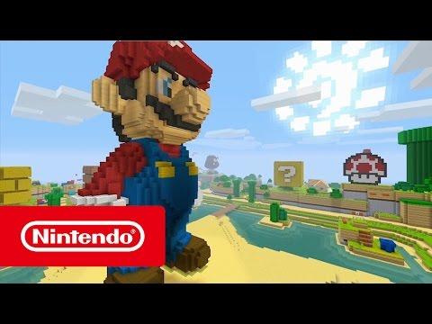 Minecraft: Nintendo Switch Edition & Super Mario Mash-Up Pack - Nintendo eShop Trailer