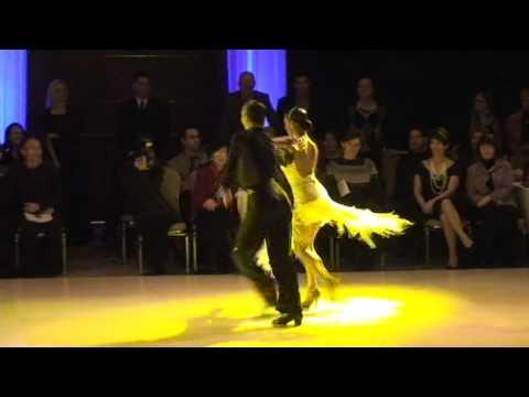 2011 EUSDC Maurizio Vescovo and Andra - Samba Showdance