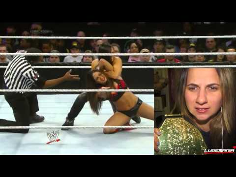 WWE Smackdown 1/3/14 Aksana vs Nikki Bella Live Commentary