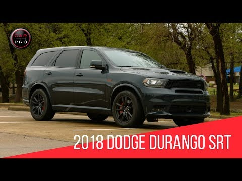 2018 Dodge Durango SRT Test Drive