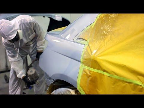 Car Painting Blending Problems - Chrysler 200 Refinish