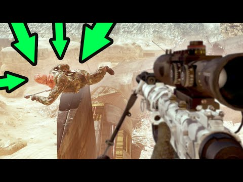 OLD SCHOOL MIKE MYERS HIDING! (Modern Warfare 2)