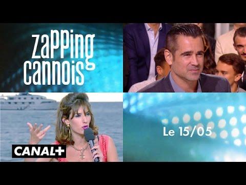 Zapping cannois du 15/05 : Colin Farrell, Rachel Weisz, Woody Allen, Emma Stone, Lea Seydoux,