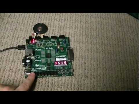 Rose-Hulman ECE-130 Winter Quarter Term Project - make a Verilog file to make the Nexys 3 play two songs.