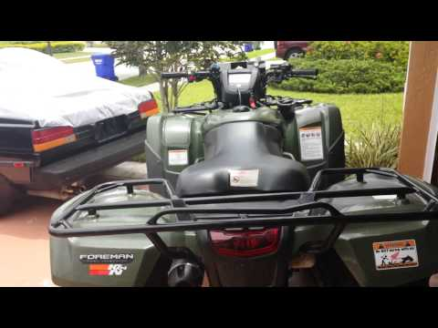 2013 Honda foreman 500 review