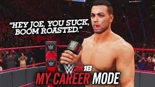 WWE 2K18 My Career Mode - Ep 30 - ROASTING SAMOA JOE!!