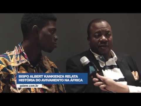 Bispo Albert Kankienza - O avivamento na África