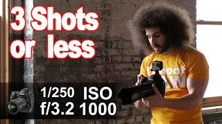 "How To Get The Perfect Exposure In ""3 Shots Or Less"" #03: Portrait Using Window Light"