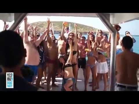 yes ibiza boat party (full video)