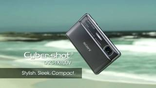 Sony Cybershot DSC-TX100V Walk through/Tutorial & First Look