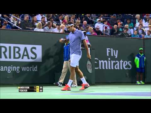 BNP Paribas Open Shot of the Day: Roger Federer