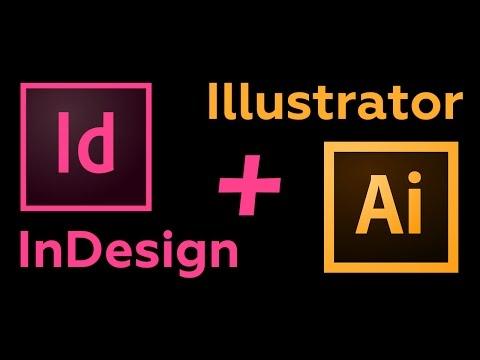 Индизайн с Иллюстратором. Как работать в связке.