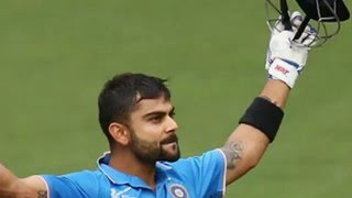 Virat Kohli 106, 25th ODI Hundred| India Vs Australia 4th ODI at Canberra