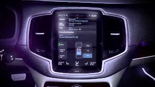 147107 The all new Volvo XC90 Bowers Wilkins audio system animation