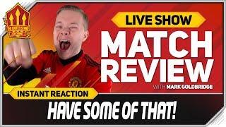Goldbridge! DE GEA THE GOAT! Tottenham 0-1 Manchester United   Man Utd News