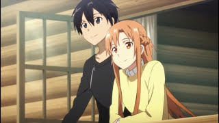 Sword Art Online - Asuna and Kirito get married (HD)