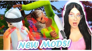 *NEW* SIMS 4 MODS TO MAKE YOUR GAME LIKE GTA 5!
