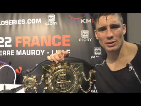GLORY 22 FRANCE Post-Fight: Rico Verhoeven thinks he may have cleaned out the division